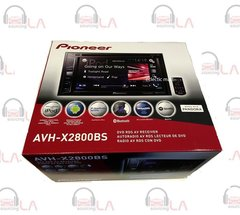 "PIONEER AVH-X2800BS CAR DOUBLE-DIN 6.2"" LCD CD/DVD/MP3 BLUETOOTH PLAYER RECEIVER"
