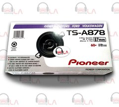 "Pioneer TS-A878 3.5"" 3-1/2"" 120 Watt 2-Way Custom Fit Car Audio Speakers"