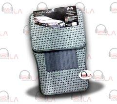 Platinum 4Pcs Floor Matts Polka Dots Style Print ( Silver )