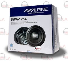 "Alpine SWA-12S4 12"" Single 4-Ohm Type-E Series Car Subwoofer"