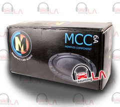 "MEMPHIS 15-MCC6A 6.5"" M CLASS COMPONENT SPEAKER SYSTEM CROSSOVERS TWEETERS"