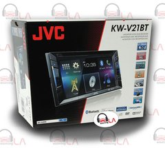 "JVC KW-V21BT 6.1"" Double DIN Car Stereo Video Receiver"