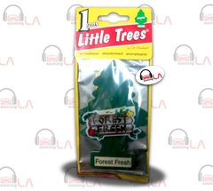 Little Trees Hanging Car and Home Air Freshener, Forest Fresh(Pack of 24)