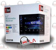 "DUAL DV615B DVD/CD/MP3/WMA/JPG DOUBLE DIN 6.2"" DISPLAY 3PR 4V PREAMP OUT"