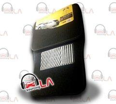 METRO BDK 4 PCS MAT CAR FLOORMATS (Black)