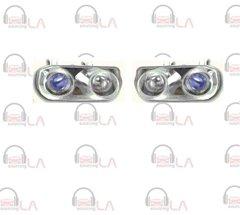 NTR2019 1994-1997 Acura Integra Angel Eye Projector Chrome/ Blue