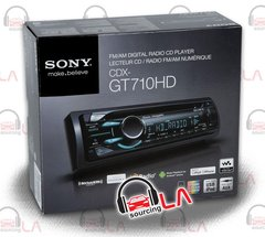 SONY CDX-GT710HD HD RADIO FRONT USB IPOD CONTROL PANDORA CAR STEREO RECIEVER
