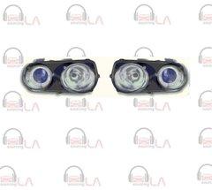 NTR2019B 1994-1997 Acura Integra Angel Eye Projector Black/ Blue