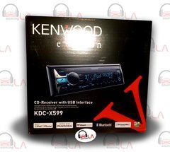 KENWOOD EXCELON KDC-X599 CD RECEIVER W/ BUILT IN BLUETOOTH W/ APTX