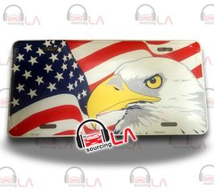 PlateFrame American Eagle Aluminum Novelty Car License Plate