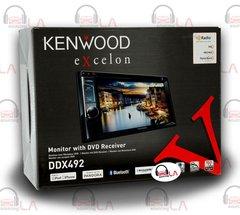 """KENWOOD DDX492 6.2"""" BLUETOOTH DVD CD USB IPHONE HD RADIO CAR AUDIO RECEIVER"""