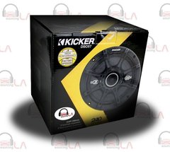 "Kicker 41DSC67 6-3/4"" D-Series Coaxial 2-Way Speaker With 1/2"" Tweeter"