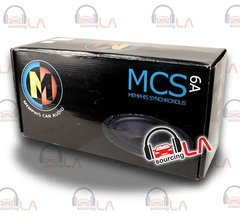 "MEMPHIS 15-MCS6A 6.5"" 200W CAR AUDIO STEREO COMPONENT SPEAKERS SYSTEM"