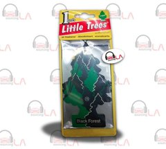 Little Trees Hanging Car and Home Air Freshener, Black Forest (Pack of 24)