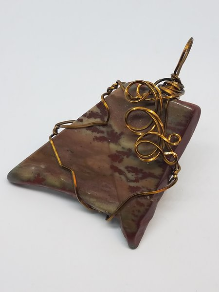 Arizona Agate Pendant