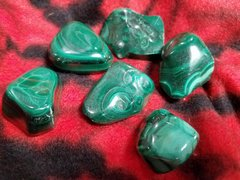 Malachite Freeform Polished Stones