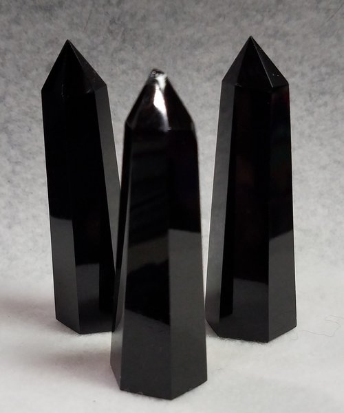 Black Obsidian ST Points