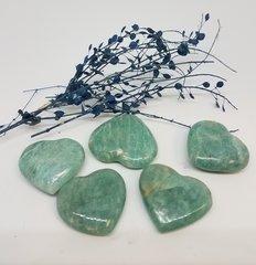 Small Amazonite Hearts