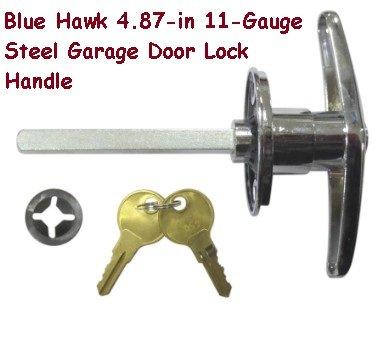 Blue Hawk 4 87 In 11 Gauge Steel Garage Door Lock Handle