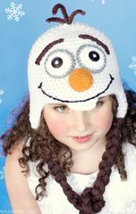 Olaf Handmade Crocheted Hats For All Sizes