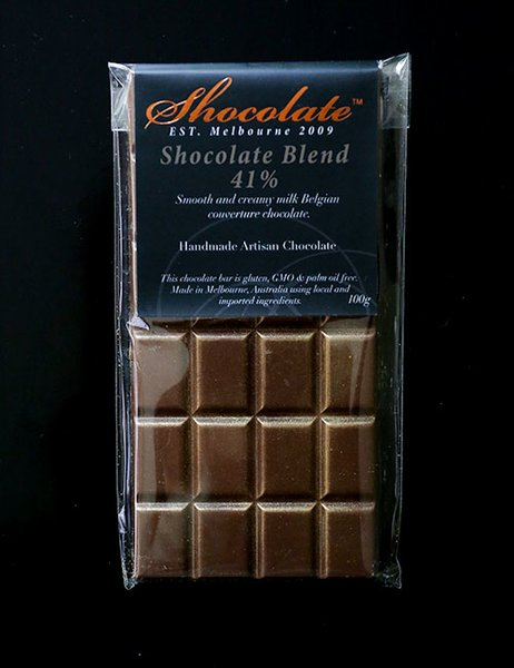 41% Shocolate Blend Milk Couverture Chocolate Bar