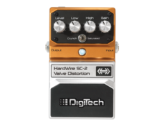 Digitech Hard Wire SC2 Valve Distortion