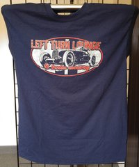 Left Turn Lounge Tee (Navy or Red)