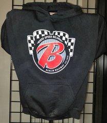 """Berlin Raceway """"B"""" Logo Hoodie - BLACK"""