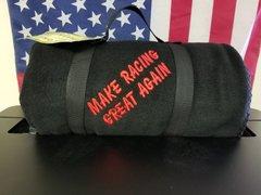 Make Racing Great Again Fleece Blanket