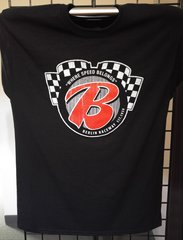"""Berlin Raceway """"B"""" Logo Distress T-Shirt"""