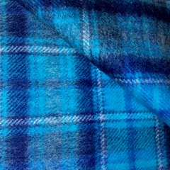 Brushed Wool Lap Blanket by Cambrian Woollen Mills, Wales