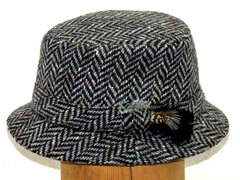Irish Tweed Walking Hat - Hanna Hats of Donegal