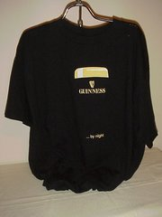 T-Shirt Guinness is good for you ... . even By Night