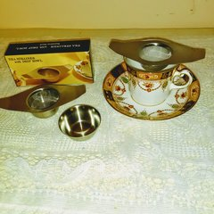 Tea Strainer in Stainless Steel.