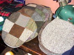 Irish Tweed Patchwork Caps - Hanna Hats of Donegal