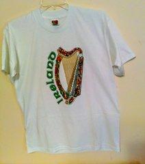 Ireland Harp Music - T-shirt