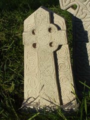 Celtic Stone Standing Cross - Celtic Imagery of Cornwall