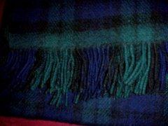 Brushed Wool Stadium Travel Blanket - John Hanly of Ireland