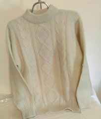 Aran Wool Sweater - Polly by Alice Collins of Scotland