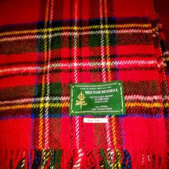 Stadium Blanket - Brushed Wool Travel and Stadium Blanket by Hector Russell of Inverness