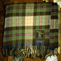 Brushed Lambswool Travel Blanket - Glenavon Woollens
