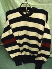 Cotton Crewneck Sweater - M&B Anson Knitwear Specialists