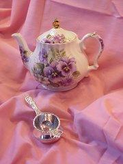 English Bone China Teapot - by James Sadler