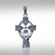 Celtic Cross with Claddagh - PS International