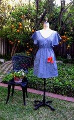 Poncho / Tunic Garden Dress