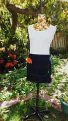 Denim Apron Skirt