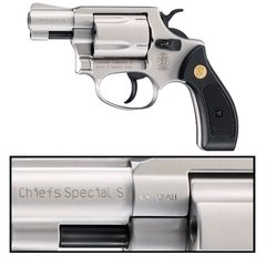 S&W Chief's Special Blank Firing Revolver (Made by Bruni)