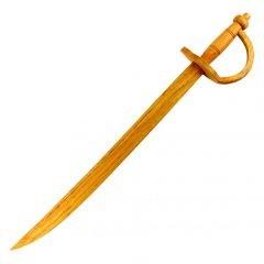 "Wooden Pirates Cutlass Practice Sword 30"" Long"