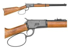 M1892 John Wayne Large Loop Winchester , Movie Version Western Carbine Replica
