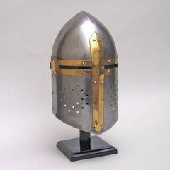 Medieval Classic Armor Sugarloaf Steel Replica Wearable Helmet